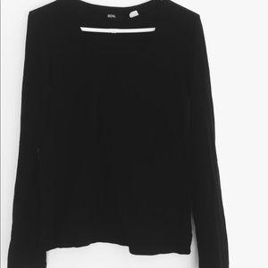 BDG V-neck black sweater